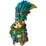 Bear priest deco