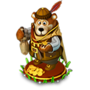 Bear merchant deco