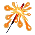 Coll explosive bengal light