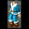 Clothesm blue costume