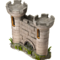 Castle wall deco