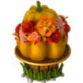 Festive pumpkin deco