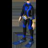 Clothesm scuba diver suit