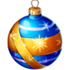 Blue Christmas tree bauble.png