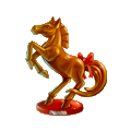 Coll musketeer horse