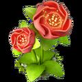 Res scarlet flower 2