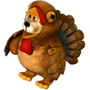 Bear turkey deco