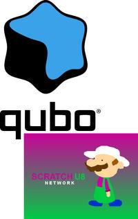 Qubo on Scratch U8 Network logo