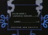 UToons TV next bumper Sailor Moon S (Japan verision) and gumby