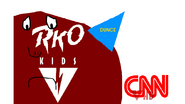 RKO Kids 2002 ident spoof with CNN logo on This Hour Has America's 22 Minutes