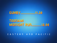 UToons TV next bumper gumby toonami midnight run