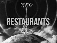 RKO Restaurants 1930