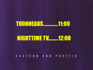 UTN - Coming up next Toonheads followed by Nighttime TV (January 4 2013)