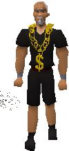 Gold Chain worn