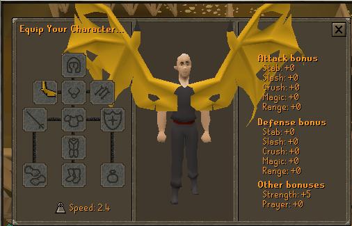 Yellow Dragon Wings (SMB) Stats