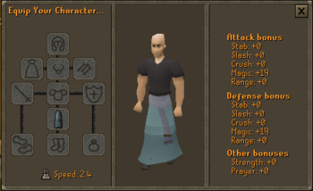 3rd Age Mage Robe Bottom Stats