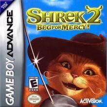 Shrek 2 Beg For Mercy for Nintendo Gameboy Advance