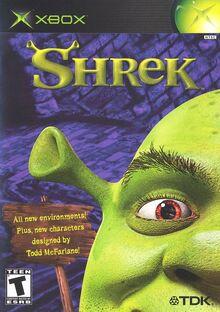 Shrek for Microsoft XBOX