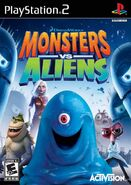 Monsters Vs Aliens for Sony PlayStation 2