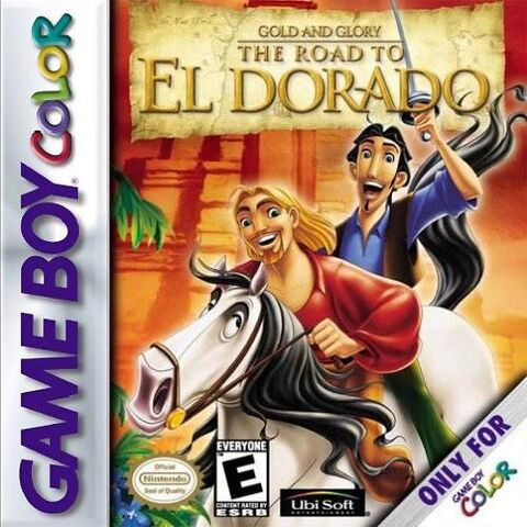 File:Road To El Dorado for Nintendo Gameboy Colour.jpg