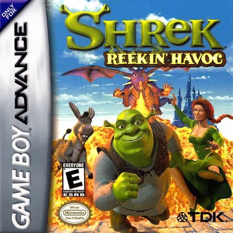 File:Shrek Reekin Havoc for Nintendo Gameboy Advance.jpeg