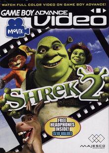 GBA Video Shrek 2 for Nintendo Gameboy Advance