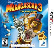 Madagascar 3 for Nintendo 3DS