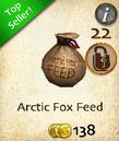 Arctic Fox Feed