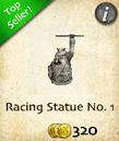 Racing Statue No. 1