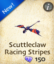 Scuttleclaw Racing Stripes