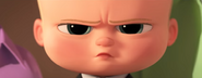 Boss Baby Annoyed