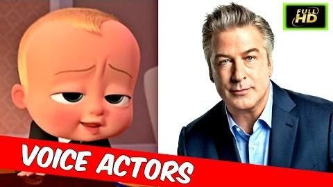 The Boss Baby Voice Actors - The Boss Baby Cast - The Boss Baby Characters