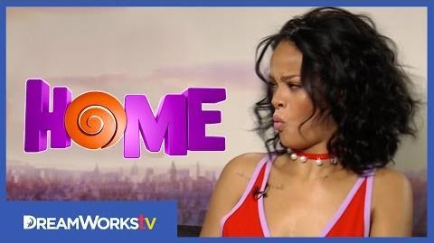 Rihanna & Jim Parsons Rihanna Can't Whistle HOME