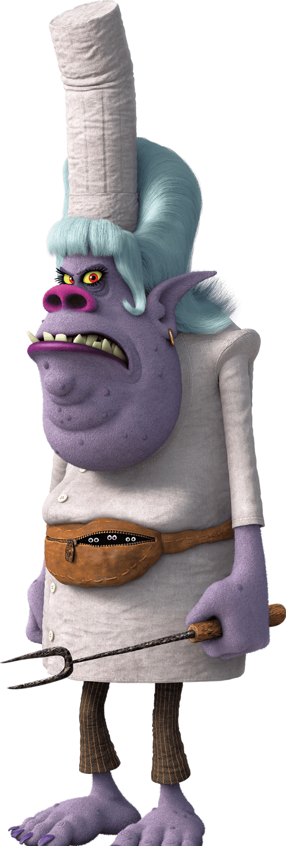 Chef bergen de la pelicula Trolls