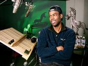 Chris Rock in the recording studio