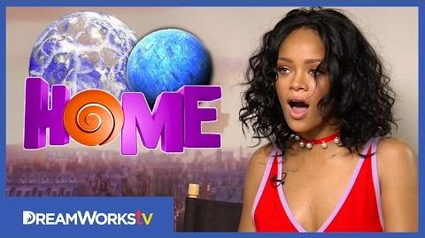 Rihanna & Jim Parsons Name Your Planet HOME