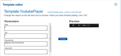Template youtube player29339