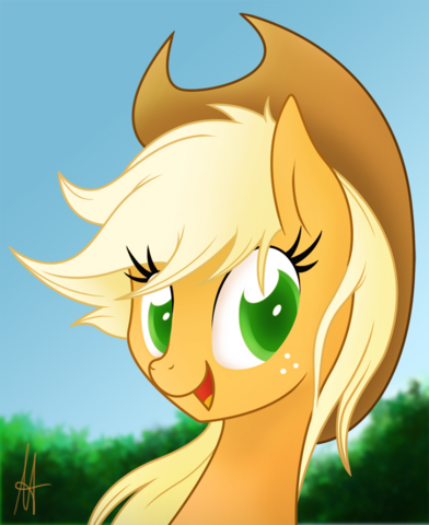 File:Mlp applejack portrait by ardas91-d5ebwdd.png