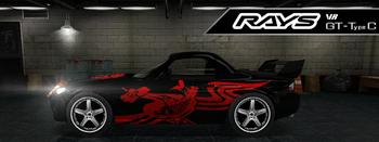 Rays VR GT-Type C
