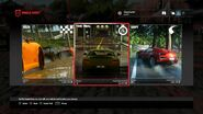DRIVECLUB game mode selection menu