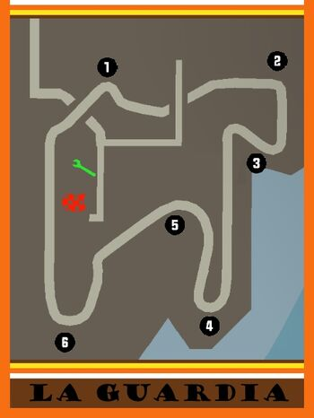 LaGuardia Circuit Map
