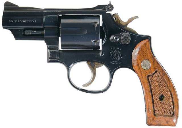File:Smith & Wesson Model 19 Snubnose.png
