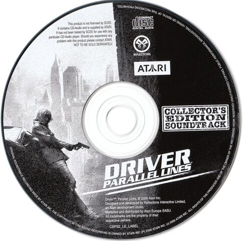 File:Driver Parallel Lines Collector 's Edition Soundtrack - Disc.jpg