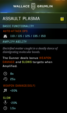 Assault plasma gear