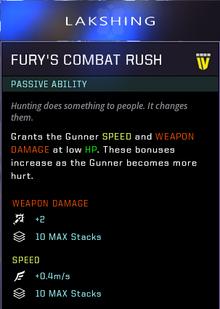 Combat rush gearbox