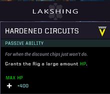 Hardened circuits geae