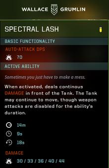 Spectral lash gear
