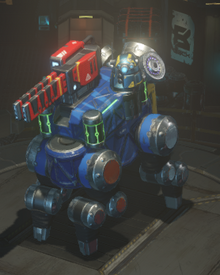 Ion cannon equipped