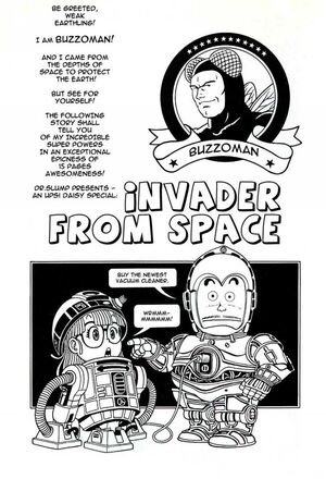 Invader from space