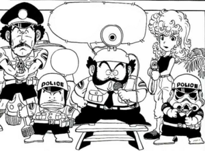 Police force manga